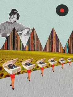 """Saatchi Art Artist Jaume Serra Cantallops; Photography, """"Record-s. Limited Edition Print 5 of 10"""" #art   Explore art inspired by Wes Anderson on Saatchi Art: http://www.saatchiart.com/art-collection/Photography-Painting-Collage/Inspired-by-Wes-Anderson/722504/109932/view"""