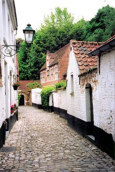 | ♕ |  Old quarter cul-de-sac - Lier, Belgium  | by © Peter Gutierrez
