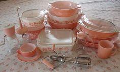 Pink Pyrex vintagevixen66