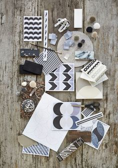Lindsey Lang Design _The Lifestyle editor Encaustic Tile, Wall And Floor Tiles, Love Home, Wall Patterns, Mood Boards, Creative Design, Kids Rugs, Black And White, Retro