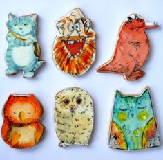 My Owl Barn: Hand Painted Cookies Inspired By Children's Books Seriously cute!!!