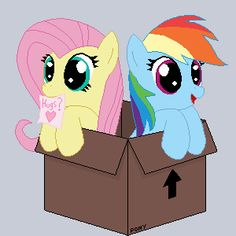 289184__UNOPT__safe_rainbow-dash_fluttershy_animated_mouth-hold_artist-tomdantherock_note_cardboard-box.gif (300×300)