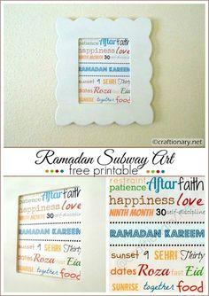 Fabric Printing using Freezer Paper (tutorial) -Guest Post - Craftionary Eid Crafts, Ramadan Crafts, Ramadan Decorations, Ramadan Activities, Cool Fathers Day Gifts, Freezer Paper, Subway Art, Easter Party, Good Good Father
