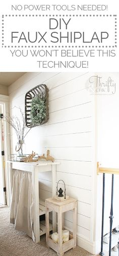 Best ways to do shiplap. How to do shiplap. What's the best method to do shiplap. Is shiplap going out of style? Diy Bathroom Remodel, Diy Bathroom Decor, Diy Home Decor, Bathroom Ideas, Bathroom Makeovers, Restroom Remodel, Restroom Ideas, Bathroom Storage, Bathroom Pictures