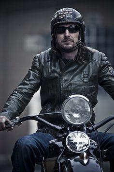 moto et look vintage