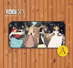 "This is ADORABLE! ""Abbey Road"" Disney Princesses Phone cases iPhone 5 case iPhone 5s case by aceDIY, $8.99"