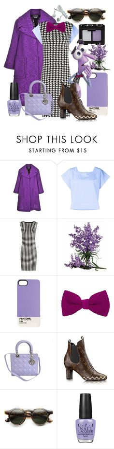 """""""F e a r"""" by izzybvb ❤ liked on Polyvore featuring Stella Jean, NARS Cosmetics, Nearly Natural, Case Scenario, 40 Colori, Christian Dior, ZeroUV, OPI and disney"""