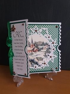 Christmas Card Crafts, Christmas Cards To Make, Xmas Cards, 3d Cards, Pop Up Cards, Fancy Fold Cards, Folded Cards, Ticket Card, Die Cut Cards