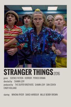 Alternative Minimalist Movie/Show Polaroid Poster - Stranger Things - Iconic Movie Posters, Minimal Movie Posters, Movie Poster Art, Iconic Movies, Iconic Movie Characters, Film Polaroid, Poster Print, Poster Wall, Poster Stranger Things