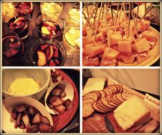 Tapas Party: sangria, melon and serrano ham, patatas bravas, spanish cheeses and crackers