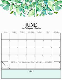 11 Best June 2019 calendar images