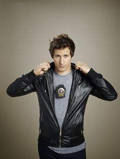 Andy Samberg as Jake Peralta probably one of my favorite TV characters. Hilarious! Brooklyn Nine Nine is GREAT!