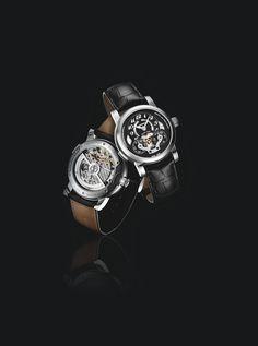 Montblanc Nicolas Rieussec Chronograph Open Home Time