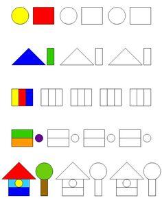 Color Worksheets For Preschool, Kindergarten Math Worksheets, Preschool Learning, Toddler Activities, Preschool Activities, Handwriting Activities, Montessori Education, Autism Classroom, Math For Kids