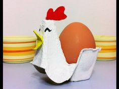 Vídeo tutorial reciclaje: Cómo hacer una gallina de cartón
