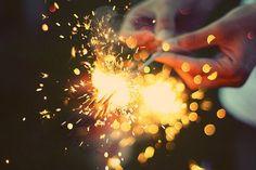 sparklers - luces de bengala