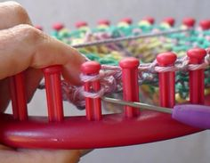 Looming Made Easy I will be showing you how to make a couple of the basic stitches so you can make these easy homemade dish cloths. I c...