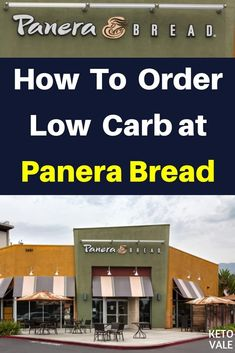 Keto Diet Fast Food Guide: How To Order Low Carb at Panera Bread via Keto Vale -. Keto Diet Fast Food, Fast Healthy Meals, Keto Diet Plan, Ketogenic Diet, Pcos Diet, Ketogenic Recipes, Paleo Diet, Low Carb Panera, Macros