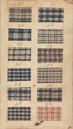 In 1771 this sample book was an innovative marketing tool that traveled from Liverpool to New York City with Captain Nicholson on the brigantine Havannah. Its five hundred swatches, made by the Manchester manufacturing firm of Benjamin and John Bower, represent the type of inexpensive cloth worn by sailors, artisans, and enslaved persons. Such textiles—especially the colorful checked and striped examples—were also a valuable currency exchanged for enslaved African men, women, and children.
