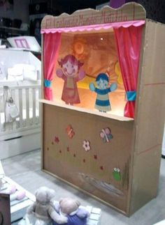 escaparate Matilda, Boutiques, Toy Chest, Storage Chest, Cabinet, Toys, Furniture, Home Decor, Stained Glass Windows
