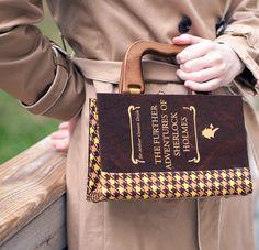 Sherlock Holmes Book Purse - MUST HAVE