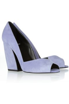 Shop for Suede pumps by Pierre Hardy at ShopStyle. Pretty Shoes, Beautiful Shoes, Suede Pumps, Pumps Heels, Pastel Shoes, Zapatos Shoes, Pierre Hardy, Purple Suede, Shoe Show