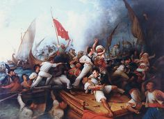 Stephen Decatur v the Barbary Pirates.