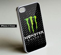 Monster Energy Drink Can - iPhone 4 Case,