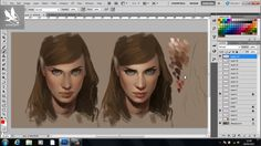 Atomhawk Tutorial: Painting Skin - Presented by Charlie Bowater on Vimeo