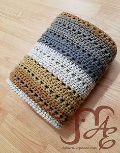 Ravelry: Tiramisu Blanket pattern by Auburn Elephant
