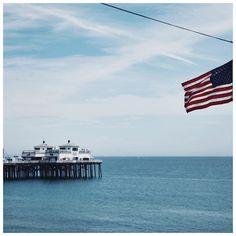 @fringeandfrange) - Favorite place as my morning view : Hello Malibu 🌊🏄🏼😍 #hifringeandfrange #losangeles