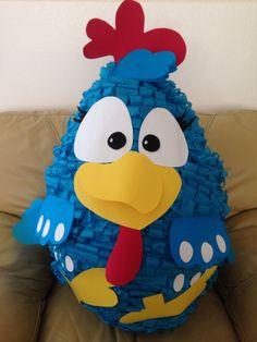 Hermosa Piñata Gallina Pintadita!