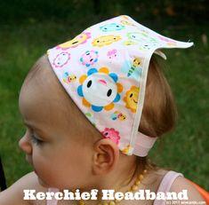 Sew Can Do: FOE Kerchief Headband Tutorial