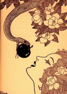 circa 1930's... by Don Blanding (1894-1957) was an American poet, journalist and art Deco illustrator.