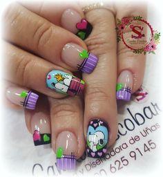 Nails & Co, Hair And Nails, Gel Nails, Manicure, Disney Acrylic Nails, Disney Nails, Trendy Nail Art, Stylish Nails, Pretty Nail Designs