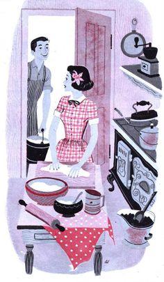Art Seiden - American Magazine, 1951