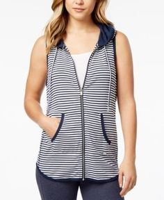Tommy Hilfiger Striped Knit Vest, Created for Macy's - Blue XL