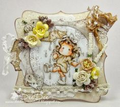 DeeDee´s Card Art: ♥ London Tilda ♥