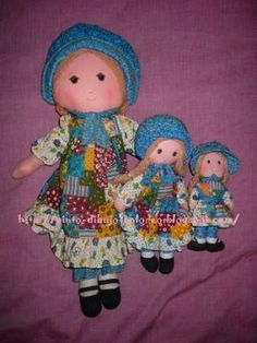Holly Hobby Dolls.....Candice do you remember your collection? I do mom!