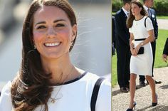 Kate Middleton is stunning in her simple and chic style! www.HighFashionMagazine.com
