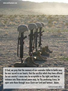 Military Prayer - Fallen Comrades