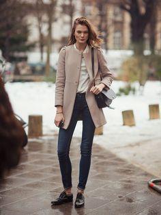32 meilleures images du tableau Manteau Mi long   Fall winter ... 1bde3a943e2d