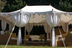 Pavilion Tent Company  Specializes in handmade tents from India: pavilians, pergolas, Raj tents.  I'm in!  info@paviliontentcompany.com