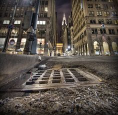 NYC. oliver-fluck - A Rat's View of the Chrysler Building?