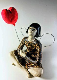 The Girl, ceramic, Anne Kimiläinen 2018