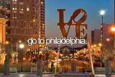 Go to Philadelphia / Bucket List Ideas / Before I Die