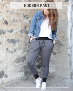 The Hudson pant is the piece of clothing that you will wear all of the time. It is comfortable enough to wear around the house, but can easily be...