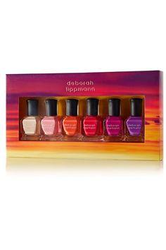 Deborah Lippmann - Sunrise, Sunset Nail Polish Set - Orange - one size