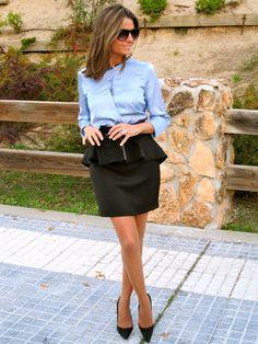 Fashion and Style Blog / Blog de Moda . Post: Blue like The Sky / Azul como el cielo See more/ Más fotos en : http://www.ohmylooks.com/?p=3892 by Silvia García Blanco