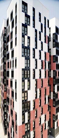 New Public Housing Tower with 12 Corners Berta Barrio